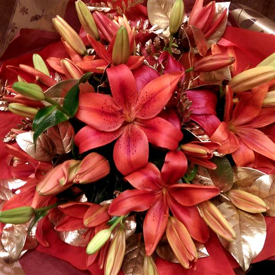 With Love Lilies (FREE DELIVERY)
