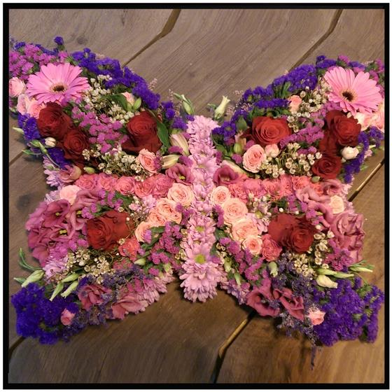 Butterflies Floral Tribute