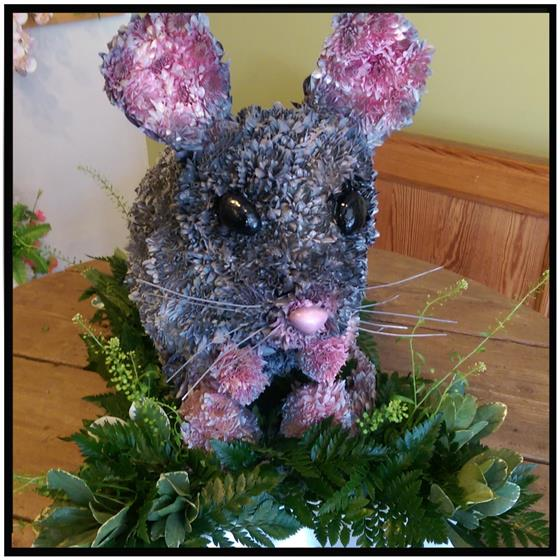 3D Mouse Floral Tribute